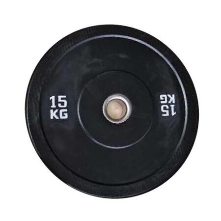 Discos Bumper Negros de calidad Olímpica